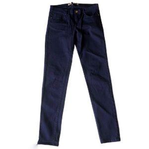 Zara Trafaluc Slim Core Denim Indigo Jean Size 6